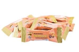 Golden Boronia Cappuccino Crunchy loose nougats