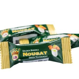 Golden Boronia Green Tea Crunchy loose nougats