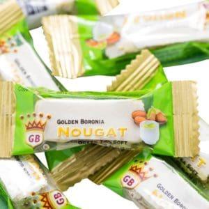 Golden Boronia Green Tea Soft loose nougats